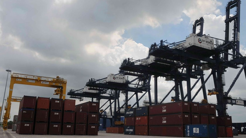 Containers at a seaport in Ho Chi Minh City. Photo: Diep Duc Minh
