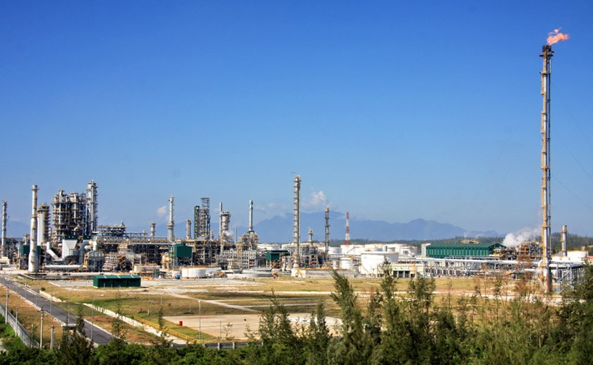Dung Quat oil refinery. Photo credit: Binh Son company's website
