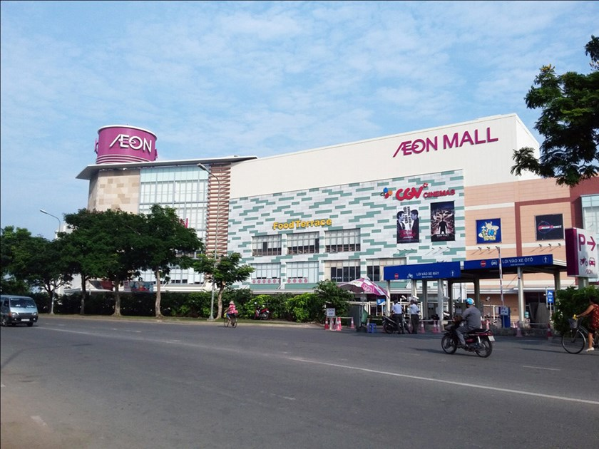 A file photo of Aeon Mall in Ho Chi Minh City