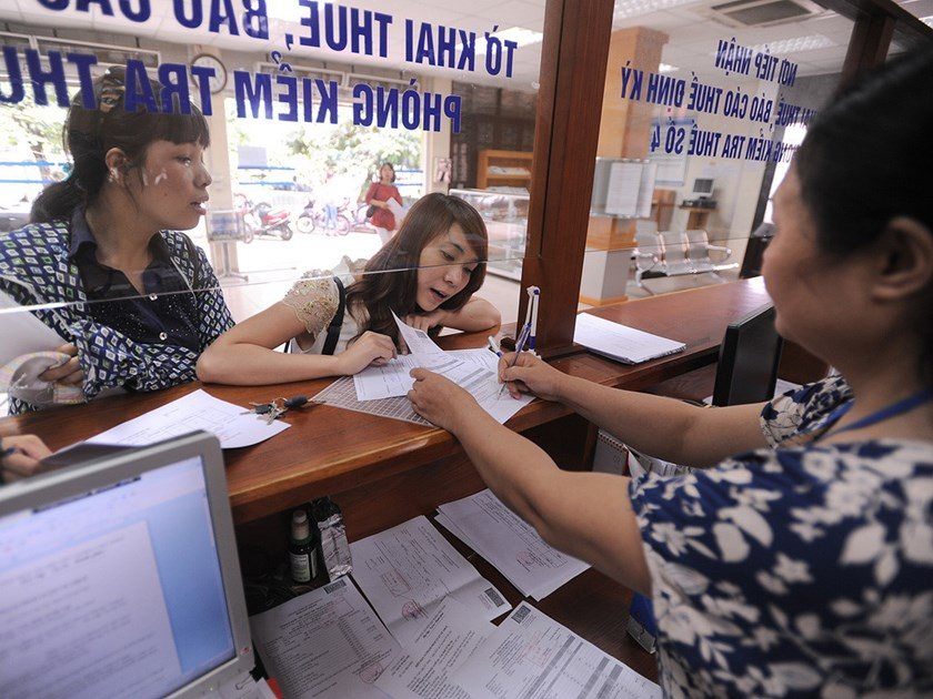 An undated photo of a tax office in Hanoi. Photo: Ngoc Thang