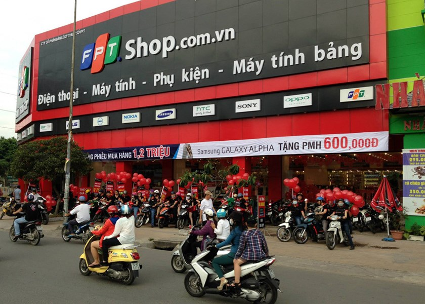 An FPT Shop store in Ho Chi Minh City. Photo: Thanh Luan