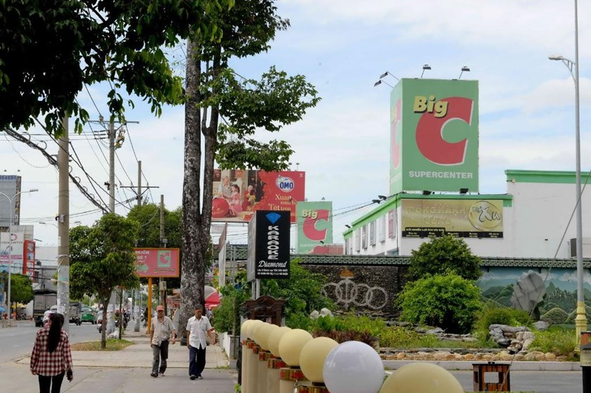 A Big C supermarket in Ho Chi Minh City. Photo: Diep Duc Minh/Thanh Nien