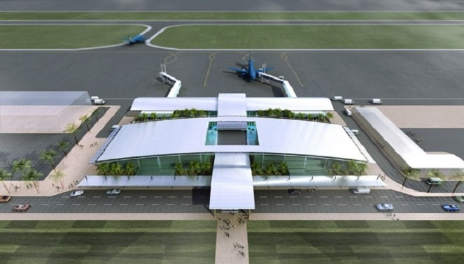 An artist's impression of Lao Cai Airport. Photo credit: Dau Tu