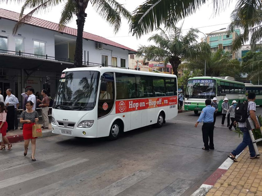 A hop-on hop-off bus in Ho Chi Minh City. Photo: Mai Phuong/Thanh Nien