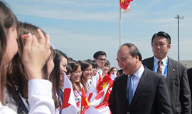 Vietnam PM starts three-day visit in Japan