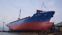 A file photo of Vinalines cargo ship. Photo credit: SBIC website