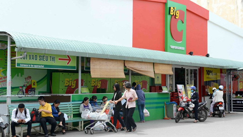 A Big C store in Vietnam. Photo: Diep Duc Minh/Thanh Nien