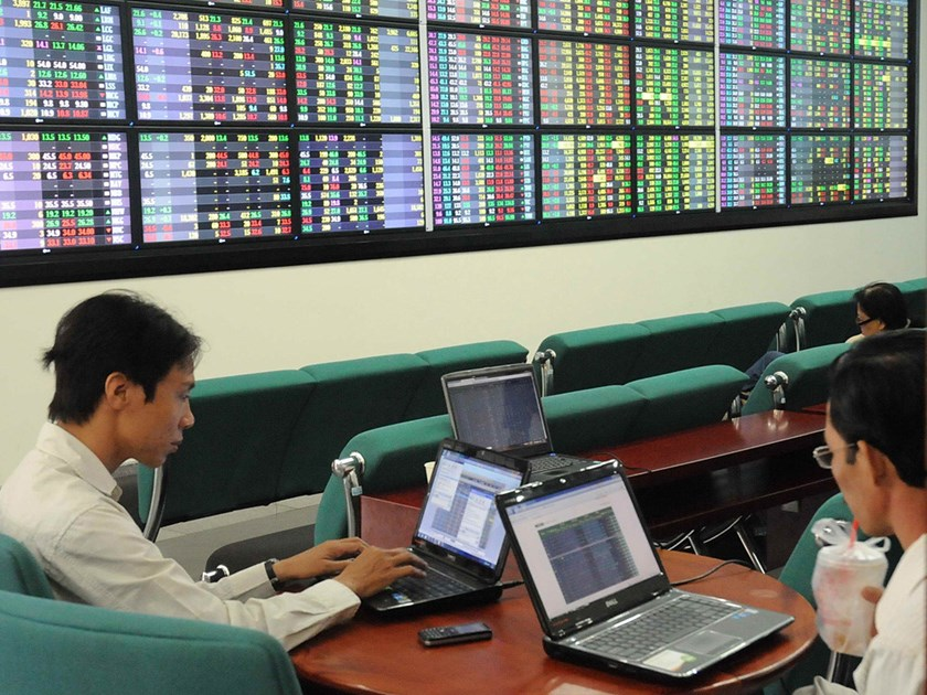 Ho Chi Minh City Stock Exchange. Photo: Diep Duc Minh
