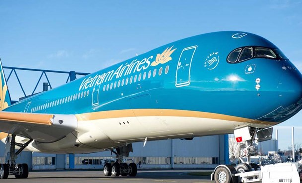 A file photo of a Vietnam Airlines aircraft. Photo credit: Vietnam Airlines