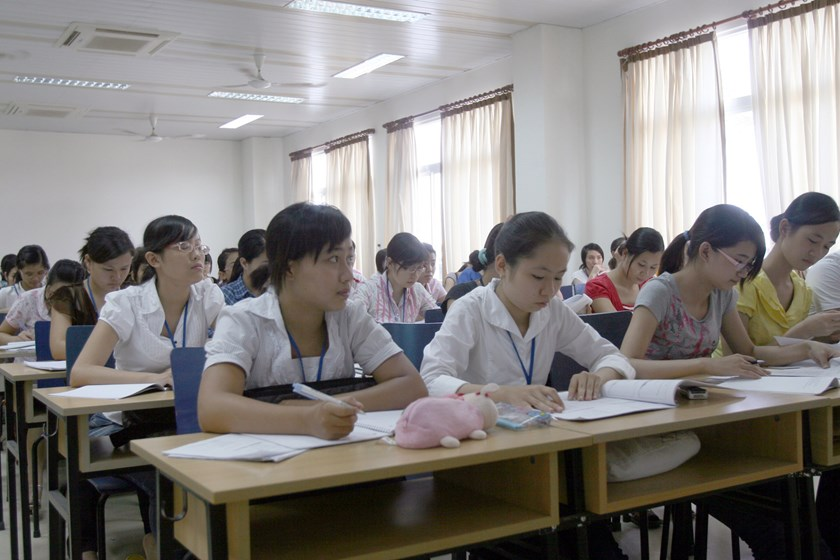 The Ministry of Education and Training will renew education curricular, and strengthen international cooperation to improve students' quality (Photo: Ngoc Thang)