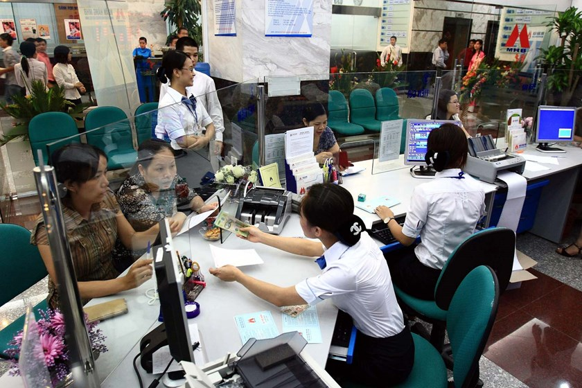 The market share of local banks in the retail banking market may be reduced in the coming time as some foreign banks have planned to expand the services (Photo: Ngoc Thang)