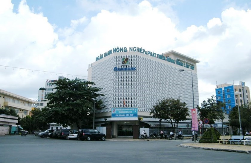 A branch of the Vietnam Bank for Agriculture and Rural Development (Agribank), in the Mekong Delta City of Can Tho. File photo