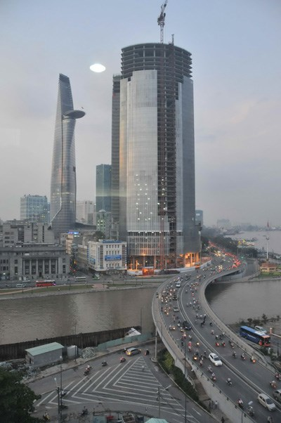 Improved infrastructure has made the property sector more attractive (Photo: Diep Duc Minh)