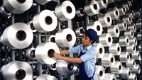 A factory in Vietnam, where HSBC bank predicts investment from key markets will spur sluggish growth.
