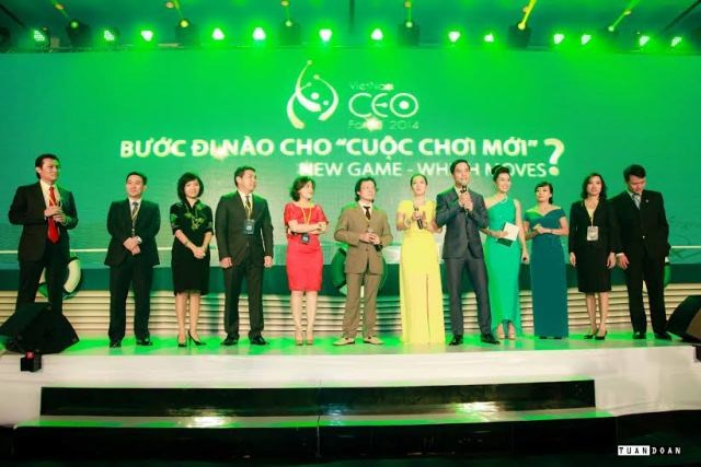 Participants at the Vietnam CEO Forum 2014. Photo credit: Business Style