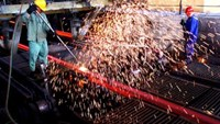 Electricity price hike will deal a big blow to the steel industry. File photo