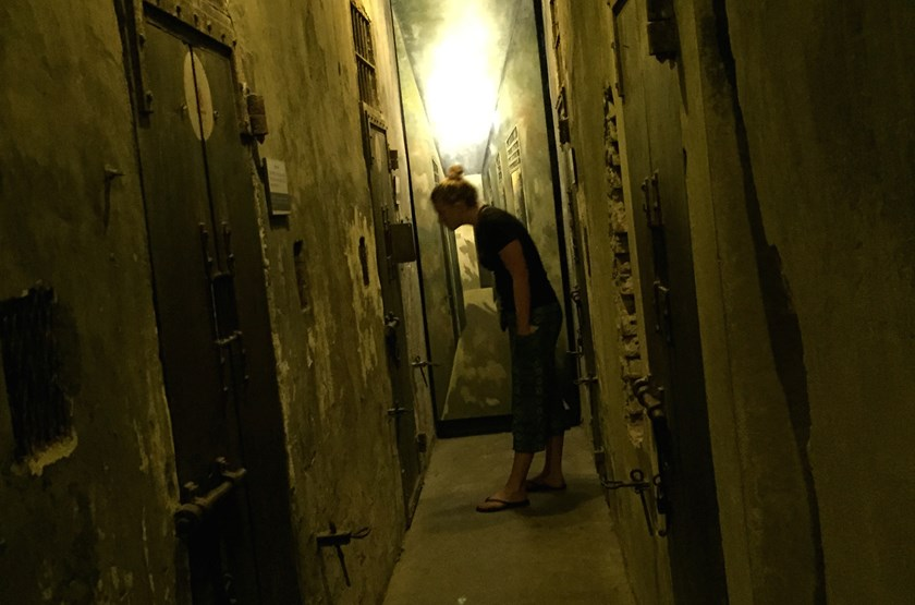 Death row cells at Hoa Lo. Photo: Bao Van