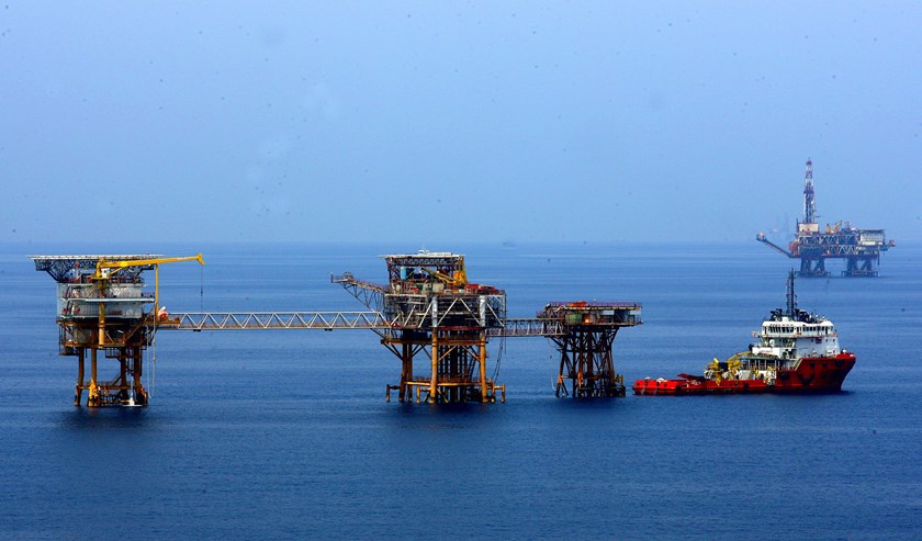 The Bach Ho Oil Field in southern Vietnam. Photo: Vietnam News Agency