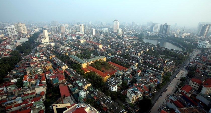 A general view of Hanoi. Vietnam has become an attractive destination for entrepreneurs looking to set up new ventures, according to a HSBC survey. Photo: Reuters