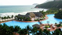 A file photo shows part of the Vinpearl Resort Phu Quoc on Phu Quoc Island, Kien Giang Province. The occupancy rate at four- and five-star resorts in Phu Quoc is often over 90 percent, according to CBRE Vietnam.