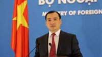 Le Hai Binh, spokesman of Vietnam's Foreign Ministry. Photo credit: Vietnam's Foreign Ministry