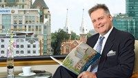 Carl Sladen, new director of sales and marketing of the Caravelle Hotel. Photo credit: Caravelle Hotel