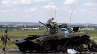 Ukraine government forces recapture separatist stronghold
