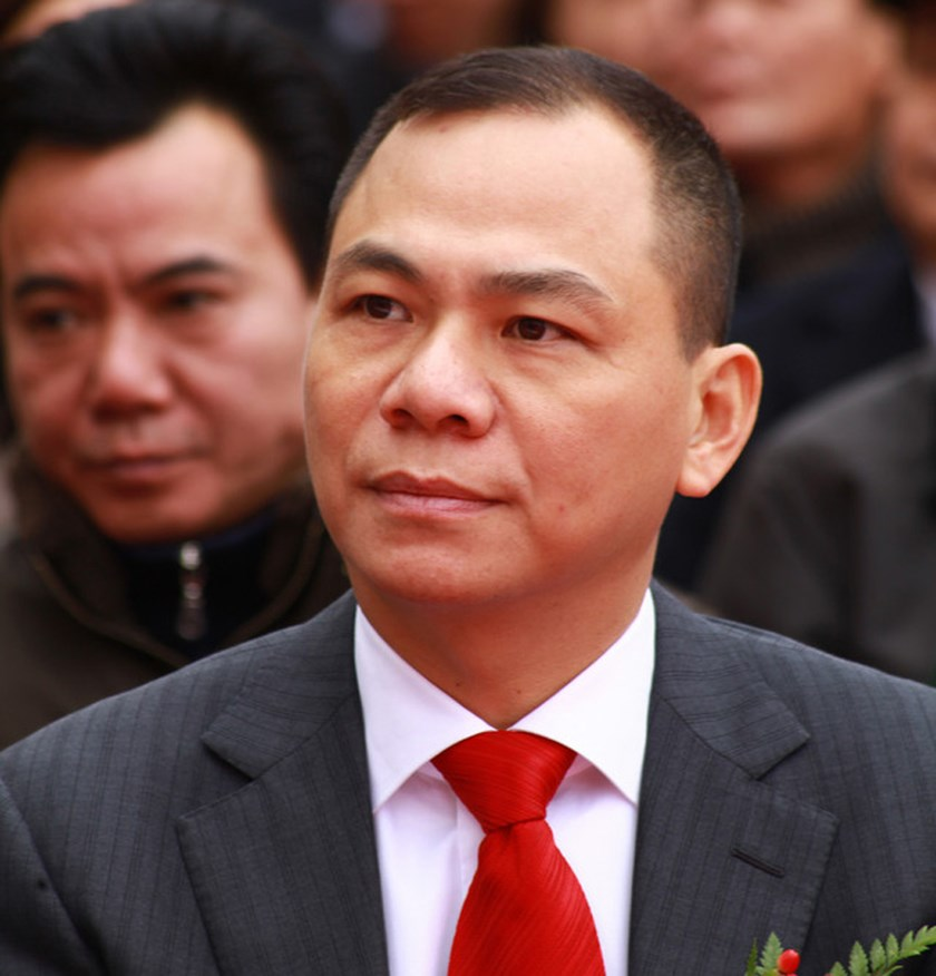 Pham Nhat Vuong, chairman of Vingroup Joint-Stock Co. He is the richest person in Vietnam with the total assets of around US$1.6 billion. Photo credit: Bloomberg