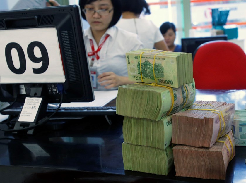 "The Global Competitiveness Report described Vietnamese banks as ""vulnerable"". Photo credit: Reuters"