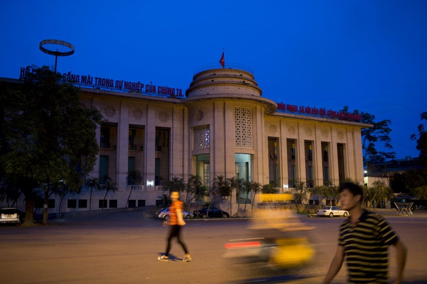 The State Bank of Vietnam in Hanoi. The country's public debt is expected to reach 60.3 percent of its GDP this year. Photo: Bloomberg