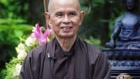 Thich Nhat Hanh, an internationally renowned Buddhist leader, in a file photo posted on plumvillage.org