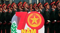 Soldiers stand by during celebrations to mark the 70th anniversary of the Vietnam People's Army in Hanoi on December 20, 2014. The army was founded on December 22, 1944 and led by General Vo Nguyen Giap in Cao Bang province. Photo: Reuters