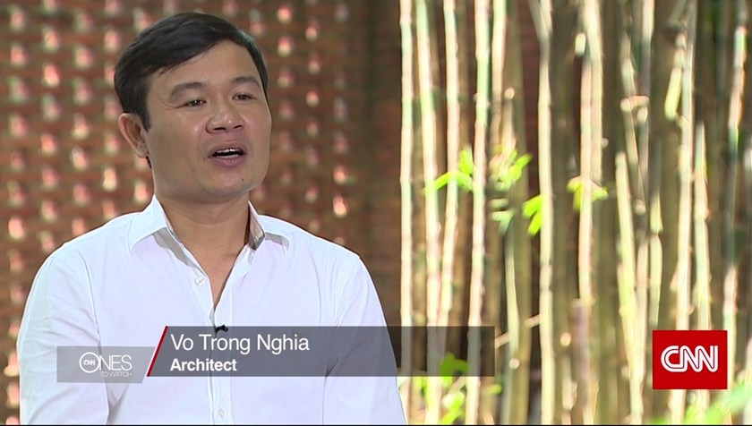Vietnamese architect to shine as 'next big name' on CNN