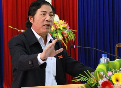 Nguyen Ba Thanh, head of the Central Interior Commission and the former populist leader of Da Nang, in a file photo. He passed away at 1 p.m. on February 13 in Da Nang after a nine-month battle with cancer.