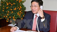 Vietnam's Deputy Prime Minister and Foreign Minister Pham Binh Minh. Photo credit: Vietnam Plus