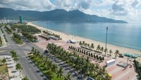 My Khe Beach in the central city of Da Nang. Photo credit: DPA