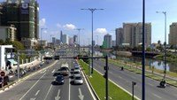 Vo Van Kiet Boulevard in Ho Chi Minh City. The street will accommodate a Bus Rapid Transit system which will be developed with funding from the World Bank. Photo credit: Panoramio