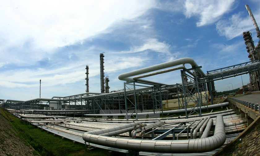 The oil refinery Dung Quat in the central province of Quang Ngai. Photo credit: Vietnam News Agency