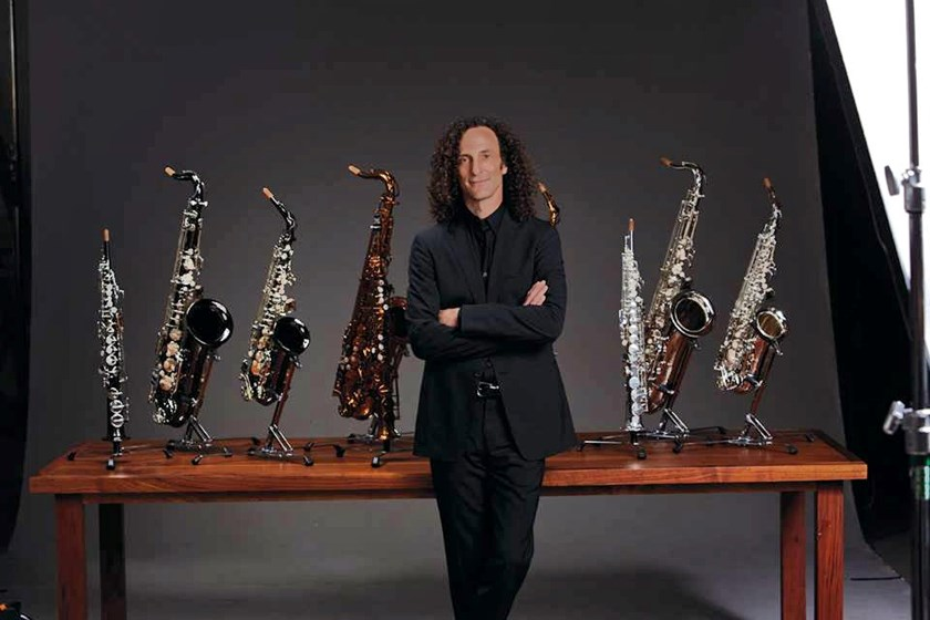 American jazz saxophonist  Kenny G in a file photo from his Facebook page
