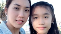 Kate Vo (R) and her mother. Photo credit: The Age