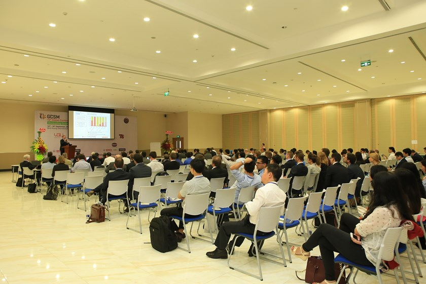 Researchers and practitioners attend the global conference on sustainable manufacturing in Binh Duong Province on September 16-18. Photo credit: Vietnamese-German University