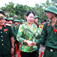 Major General Pham Minh Thang (L), deputy commander of the Military Zone 9, in a file photo.