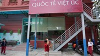 The Vietnam Australia International School, established in Ho Chi Minh City in 2004, is a private school group offering a K–12 education program. Photo credit: Tuoi Tre