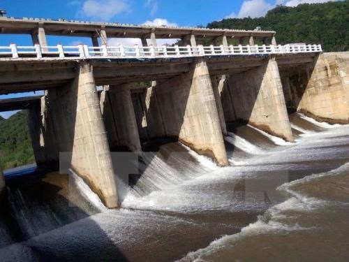 An irrigation dam in the Central Highlands province of Kon Tum. Photo: Vietnam News Agency