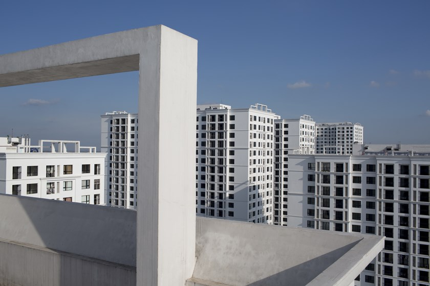 Vinhomes Times City apartment buildings, developed by Vingroup JSC, stand in Hanoi. Photo: Brent Lewin/Bloomberg