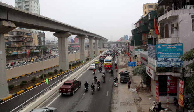 Hanoi S First Elevated Rail Line To Start Service In