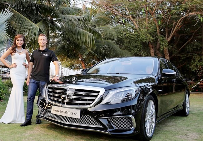 Mercedes-Benz Vietnam introduces the S65 AMG model in Ho Chi Minh City on February 20, 2016. Photo credit: Quoc Hung/Saigon Times Online