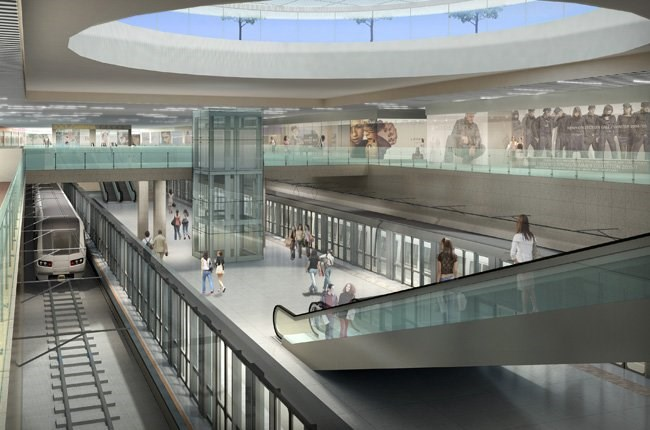 A rendering of the underground shopping zone in downtown Ho Chi Minh City. Photo credit: Saigon Times Online