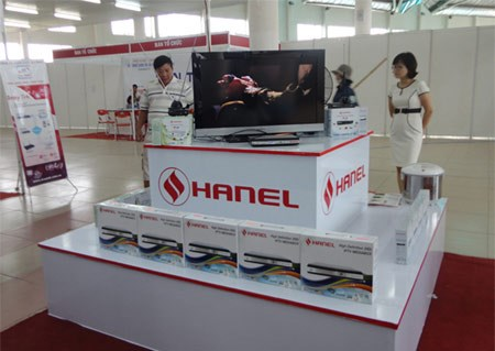 A Hanel stall at an exhibition in the central city of Da Nang in an undated photo. Photo credit: VietNamNet