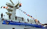 South Korean coast guard ship docks in Da Nang